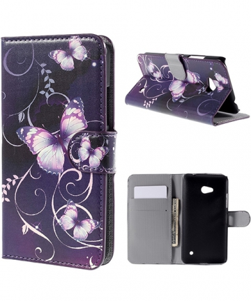 microsoft-lumia-640-xl-blue-vutterflies-leather-wallet-case_1