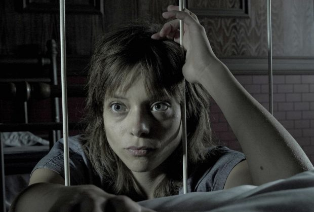 AMERICAN HORROR STORY: ASYLUM -- Pictured: Lizzie Brochere as Grace -- CR: Frank Ockenfels/FX